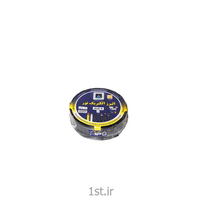 کابل برق 0.5در 4 نوع افشان 17 رشته ای