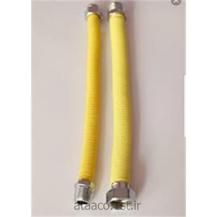 شلنگ فلکسیل سایز 3/4  اینچ طول 20 سانت