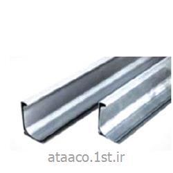 عکس کانال فولاد ضد زنگپروفیل ماستیک دار فلنج کانال سایز 35 میلیمتر