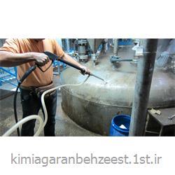 مایع شوینده امولسیونی پاک کننده مواد نفتی و رسوبات کربنی/ بهزیست 1214