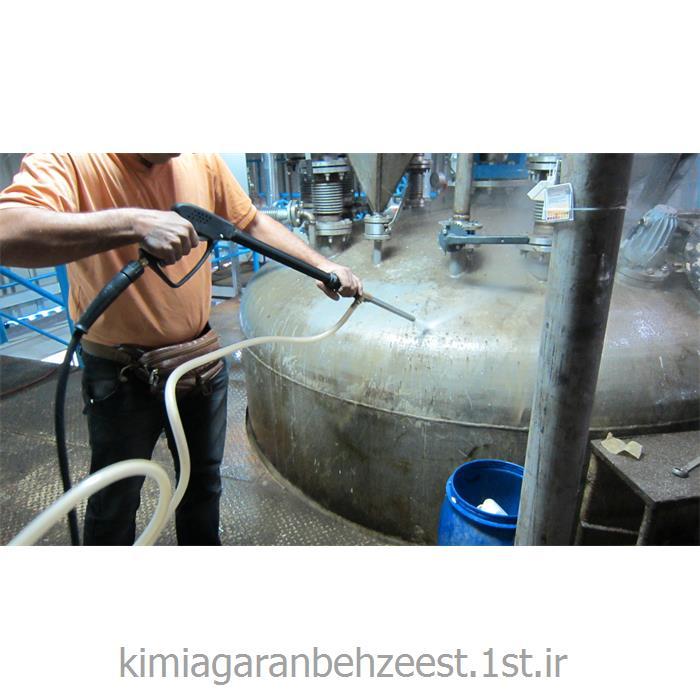 عکس سایر مواد شیمیاییمایع پاک کننده و میکروب زدا و شوینده و چربیگیر صنعتی ( بهزیست 1231 )