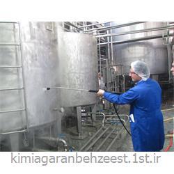 مایع شوینده و میکروبزدا مخازن و مجاری دستگاههای ماشینکاری/بهزیست 1202
