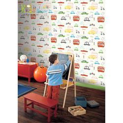 کاغذ دیواری انگلیسی اتاق کودک دکورلاین