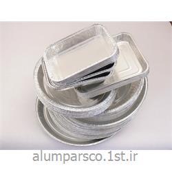 ظروف یکبار مصرف استاندارد آلومینیومی کد 102
