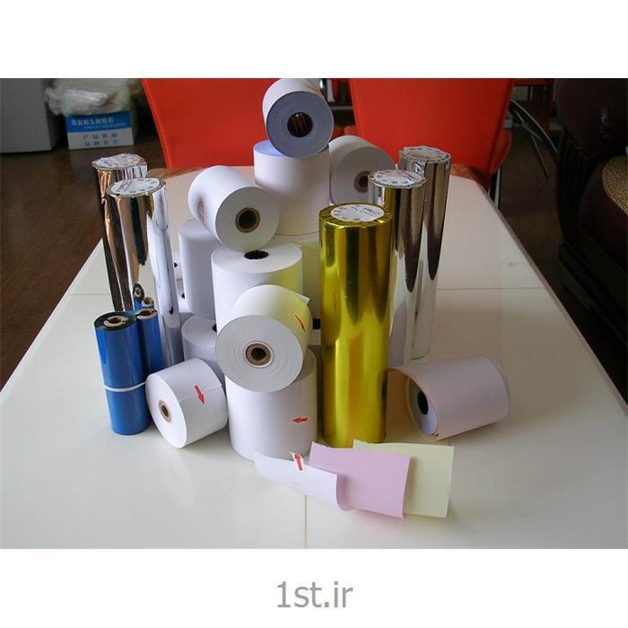 عکس کاغذ صندوق پول ( رول حرارتی )رول حرارتی8*8 مخصوص پرینتر های حرارتی، فیش زن
