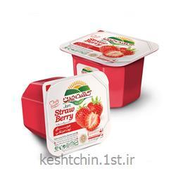 عکس سایر غذاها و نوشیدنی هامربای توت فرنگی کاپ فیل 200 گرمی