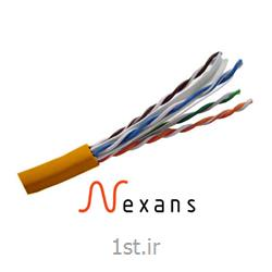 عکس کابل شبکه و پچ کوردکابل شبکه نگزنس Nexans Cat6 UTP