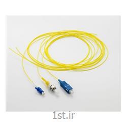 عکس کابل شبکه و پچ کوردپیگتیل 9 میکرون SC-SM یک متری نگزنس