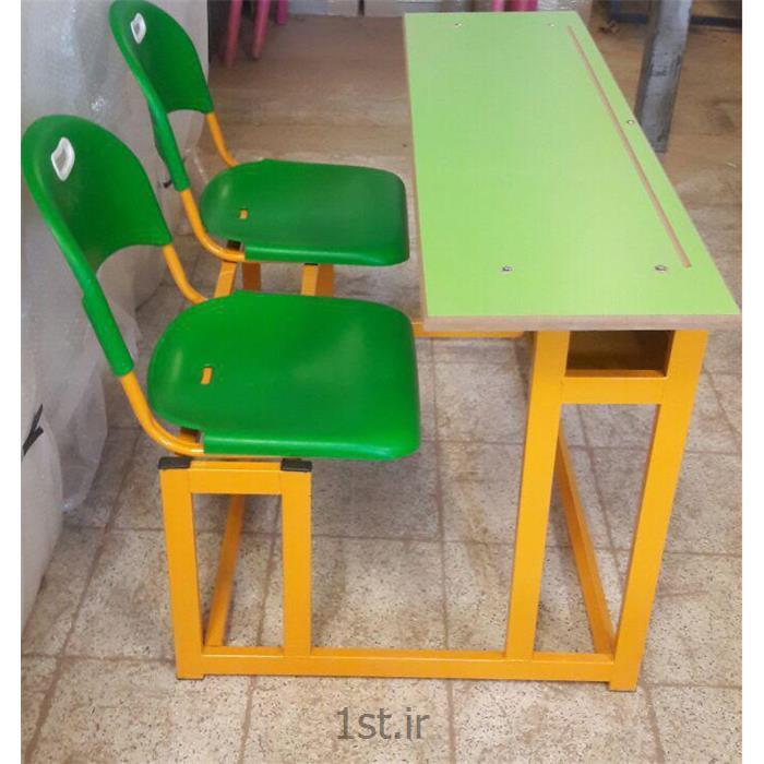 عکس تجهیزات آموزشینیمکت فلزی پلی پروپلین مدارس رنگ سبز
