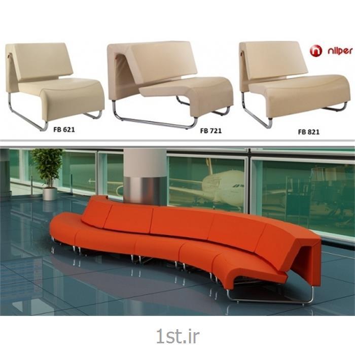عکس صندلی انتظارمبل راحتی اداری مدل FB 621 شایان صنعت