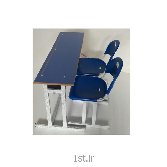 عکس تجهیزات آموزشینیمکت فلزی پلی پروپلین مدارس رنگ آبی