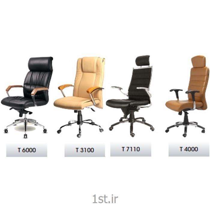 صندلی مدیریت پشت بلند ارگونومی سری T