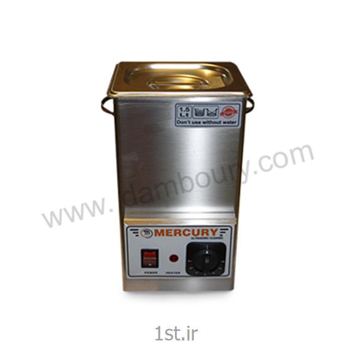 عکس سایر دستگاه های پرداخت فلزاتدستگاه التراسونیک 1/5 لیتر MERCUR