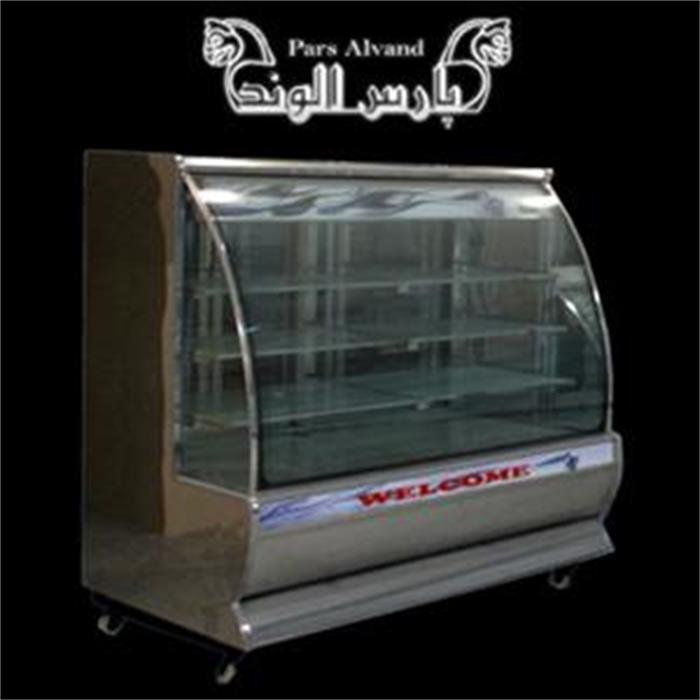 عکس سایر یخچال و فریزرها یخچال ویترینی مدل شیشه خم