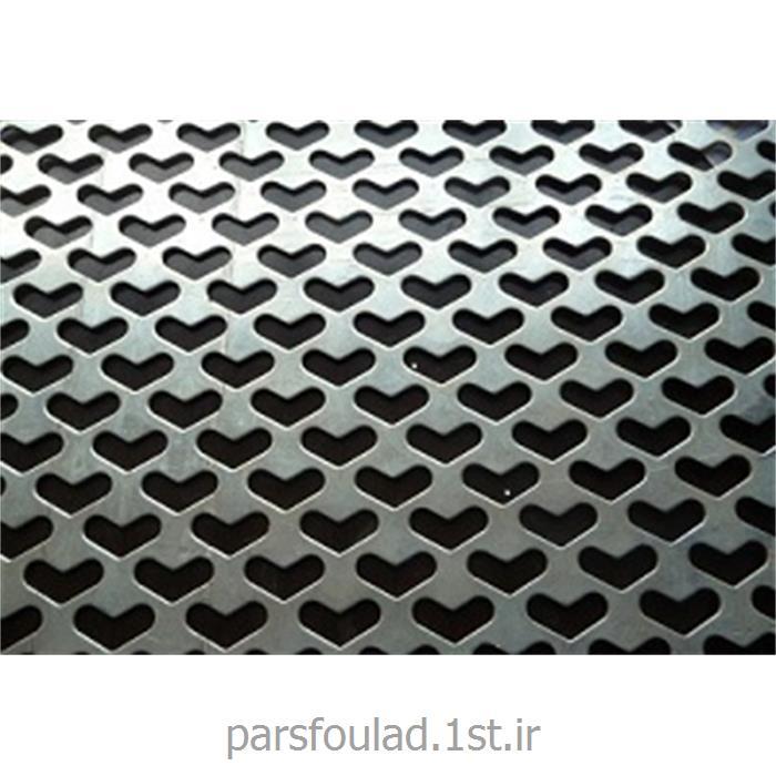 عکس سایر فلزات و محصولات فلزیورق پانچ استنلس استیل تیپ 316