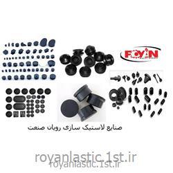 پایه و درپوش لاستیکی آزمایشگاهی قطر 16