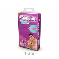 عکس پوشکپوشک نوزاد جان ب ب 7تا18 کیلوگرم (سایز4) Canbebe