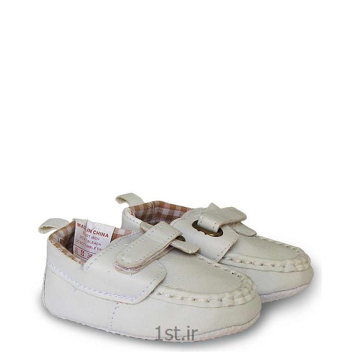 کفش کالج پسرانه سفید Mothercare