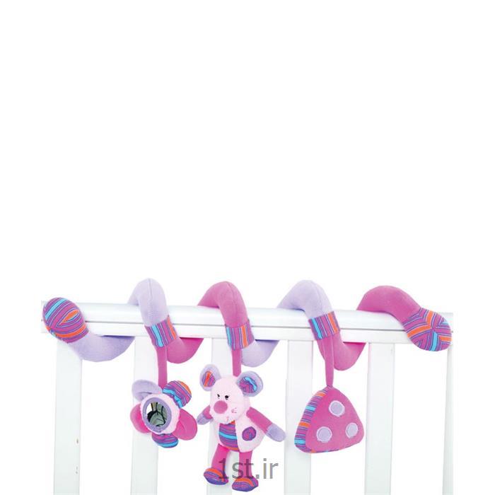 عکس آویز عروسکی تخت نوزادآویز عروسکی نوزاد JollyBaby جولی بی بی