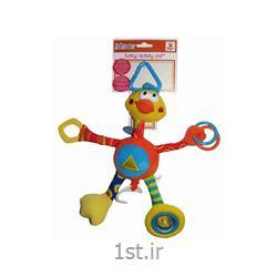 عکس عروسکنخکش موزیکال اردک بلند جولی بی بی Jollybaby