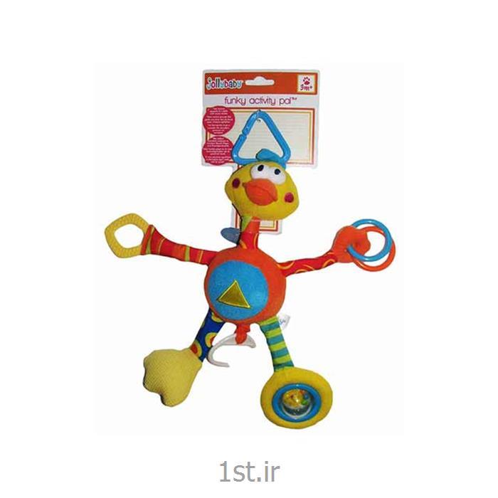 نخکش موزیکال اردک بلند جولی بی بی Jollybaby