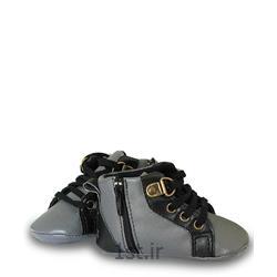 عکس کفش بچهکفش طوسی پسرانه مکس Mexx
