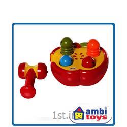 عکس سایر اسباب بازی های آموزشیسیب پازلی چکش دار آمبی Ambi