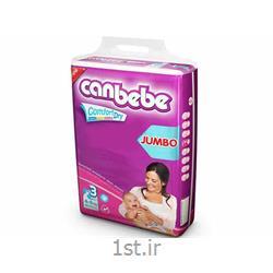 پوشک نوزاد جان ب ب 4تا9 کیلوگرم (سایز3) Canbebe