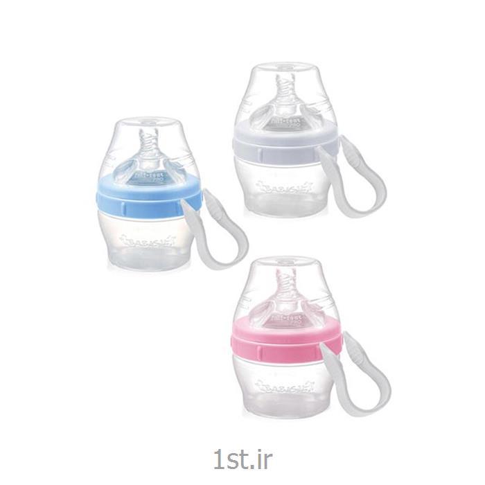 شیشه شیر طلقی 110 میل پهن بی بی سیل Babisil