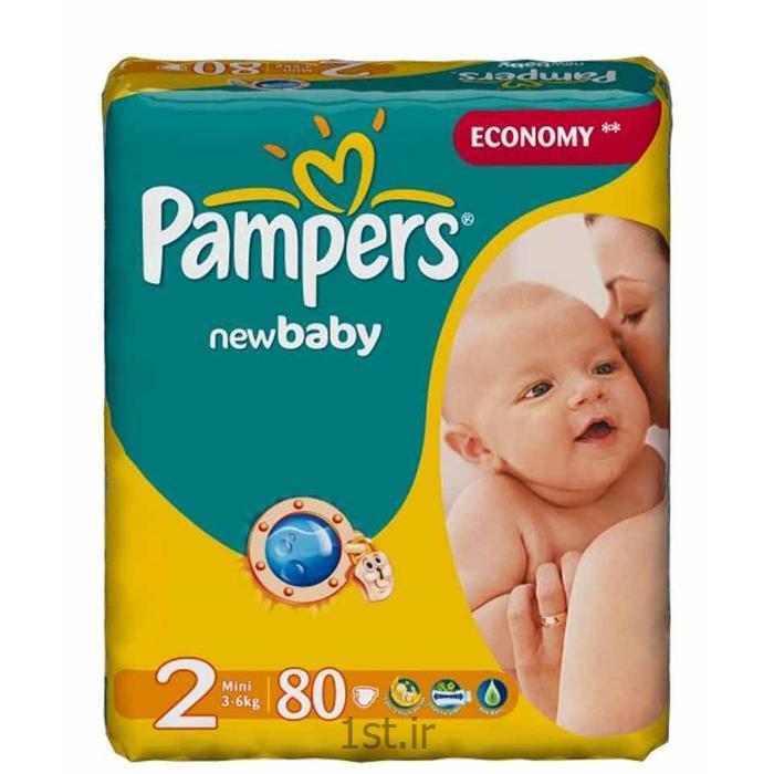 پوشک نوزاد 3تا6 کیلوگرم پریما پمپرز (سایز2) Pampers و پوشک نوزاد 4تا9 کیلوگرم پریما پمپرز (سایز3) pampers