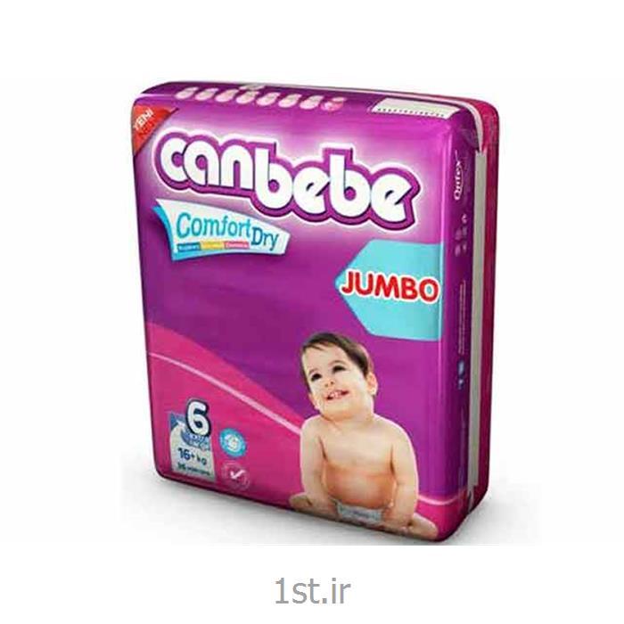 عکس پوشکپوشک نوزاد جان ب ب 16+ کیلوگرم (سایز6) Canbebe
