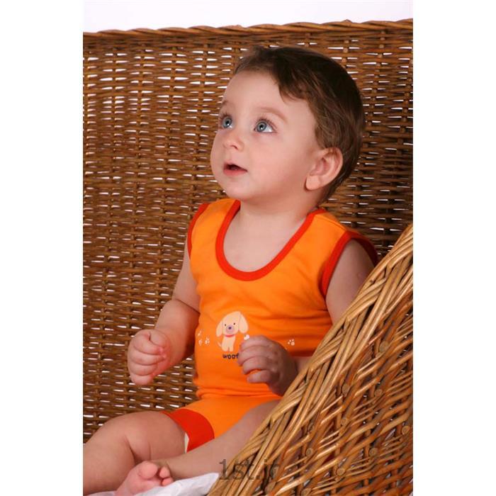لباس زیر نوزادی مدل پرتغالی تاپ لاین