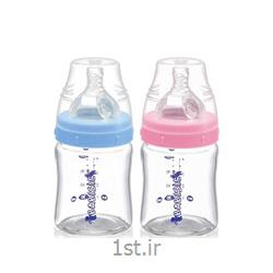 شیشه شیر پیرکس 120 میل پهن بی بی سیل Babisil