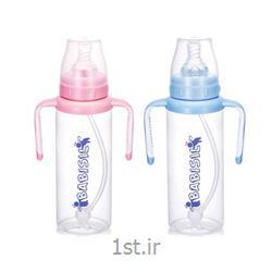 شیشه شیر دسته دار 360درجه 270میل بی بی سیل Babisil