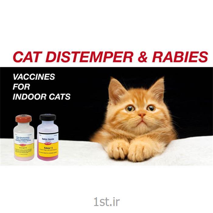 عکس ابزار و تجهیزات دامپزشکیواکسن سه گانه گربه