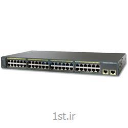 عکس سوئیچ شبکهسوئیچ شبکه 48 پورت  WS-C2960-48TTL سیسکو ( switch 48 port cisco )