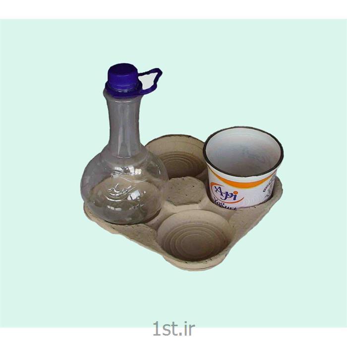 سینی زیر شیرینگ لبنیات کاغذی یا سلولزی سفید white paper dairy tray