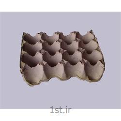 شانه تخم مرغ 12 خانه ای کاغذی سفید white paper egg tray