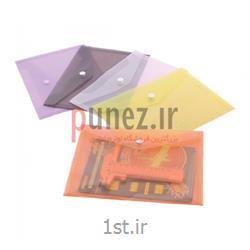 پاکت دکمه دار سمند مدل A5 شفاف کد SA119T