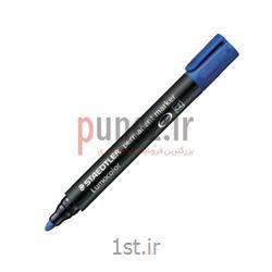 ماژیک استدلر مدل Lumocolor permanent نوک گرد کد 352- آبی