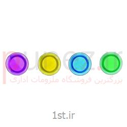 عکس لوازم هنریمگنت کریستالی شفاف 5 رنگ بسته 10 عددی