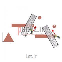 خط کش OLFA سایز 15*60 سانتی متر کد MQR-1560