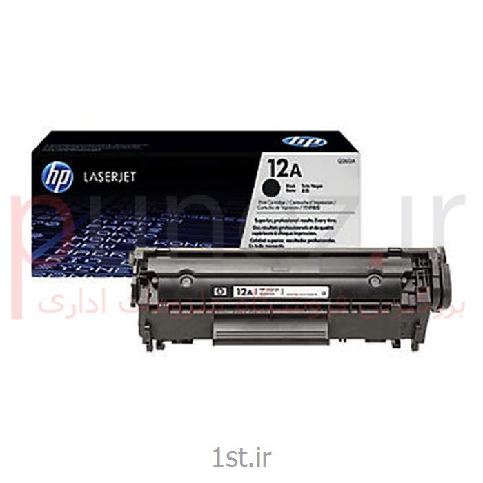 کارتریج HP 12 A طرح با گارانتی