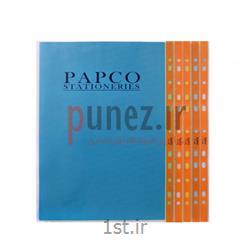 کاور (پوشه کیسه ای) پاپکو شفاف کد 11-A4 - نارنجی