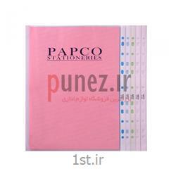 کاور (پوشه کیسه ای) پاپکو شفاف کد 11-A4- سفید