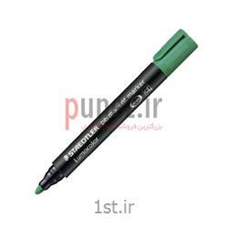 عکس سایر مارکر ها و علامت زن هاماژیک استدلر مدل Lumocolor permanent نوک گرد کد 352- سبز