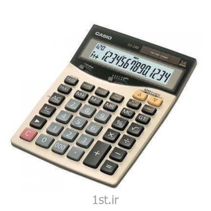 عکس ماشین حسابماشین حساب کاسیو مدل BLD240