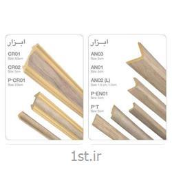 عکس طراحی دکورنبشی L پلی استایرن کد AN02