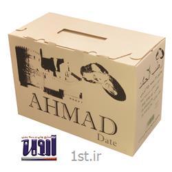 عکس جعبه بسته بندیکارتن مادر مقوایی بسته بندی خرما و رطب