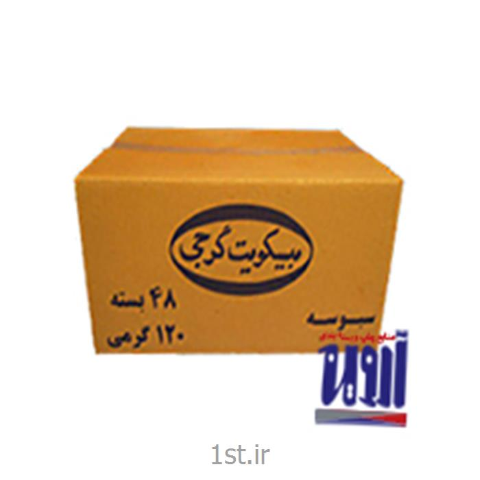 طراحی و بسته بندی جعبه بیسکوییت